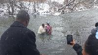 Winter Baptism in Rome