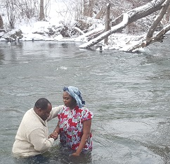 baptism river in winter image 1