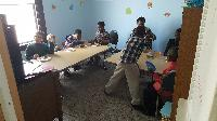 Children's Room at the Church lunch and social (April 16, 2017)